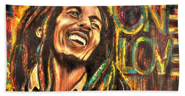 Bob Marley - One Love Beach Sheet