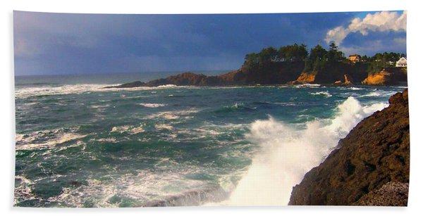Oregon Coast 9 Beach Towel