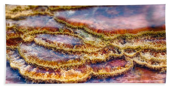 Pancakes Hot Springs Beach Towel