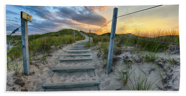 Path Over The Dunes Beach Towel