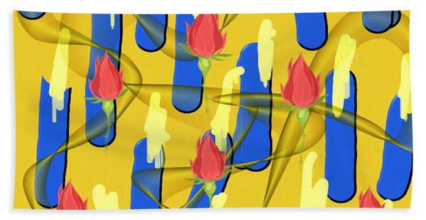 Peace Will Find A Way Beach Towel