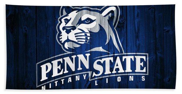 Penn State Barn Door Beach Towel