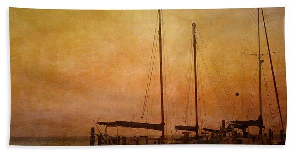 Pensacola Harbor Beach Towel