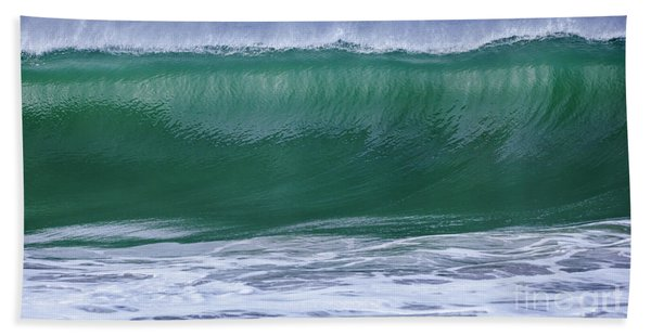 Beach Towel featuring the photograph Perfect Wave Large Canvas Art, Canvas Print, Large Art, Large Wall Decor, Home Decor, Photograph by David Millenheft