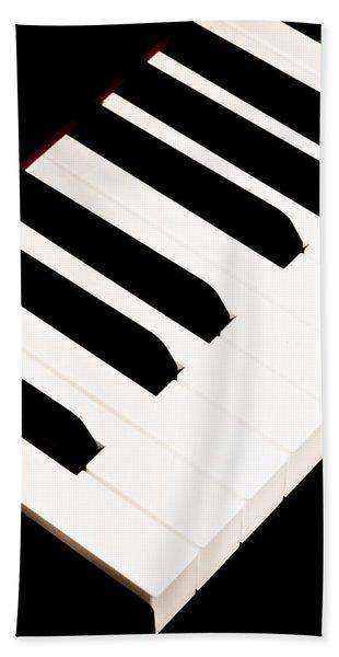 Piano Beach Towel