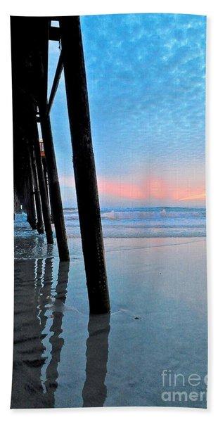 Pier Under Beach Towel
