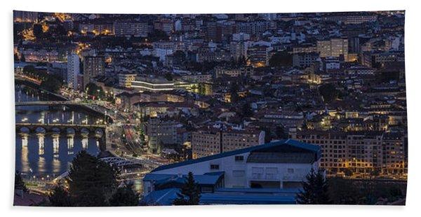 Pontevedra Panorama From A Caeira Beach Towel