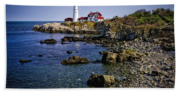 Portland Headlight 36 Beach Towel