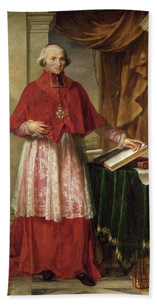 Portrait Of Cardinal Joseph Fesch 1763-1839 1806 Oil On Canvas Beach Towel