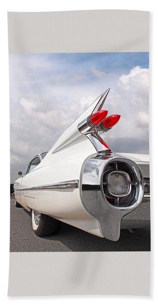 Reach For The Skies - 1959 Cadillac Tail Fins Beach Towel