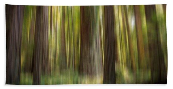 Redwood Dream Beach Towel