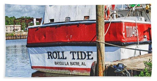 Roll Tide Stern Beach Sheet
