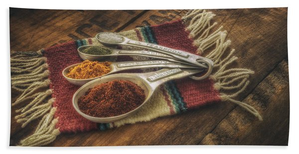Rustic Spices Beach Towel