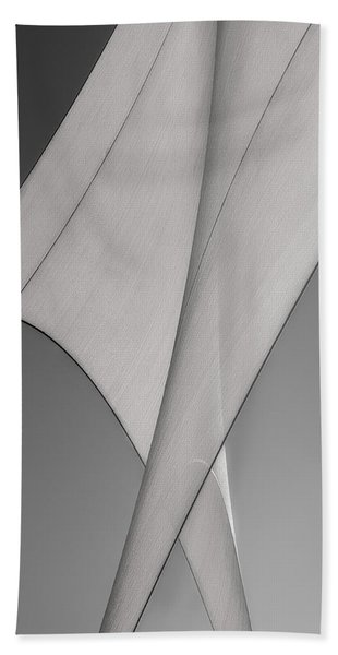 Sailcloth Abstract Number 3 Beach Towel