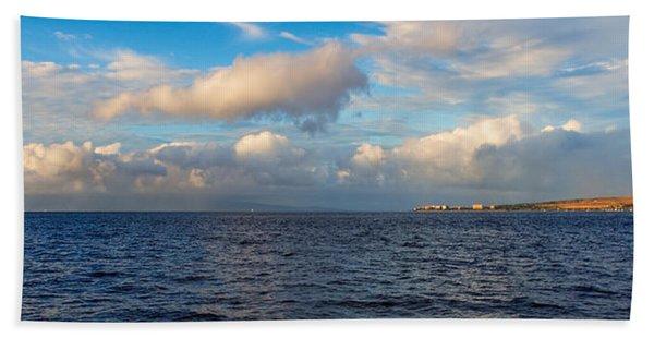 Sailing To Lahaina Beach Towel
