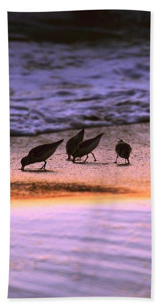 Sandpiper Morning Beach Towel