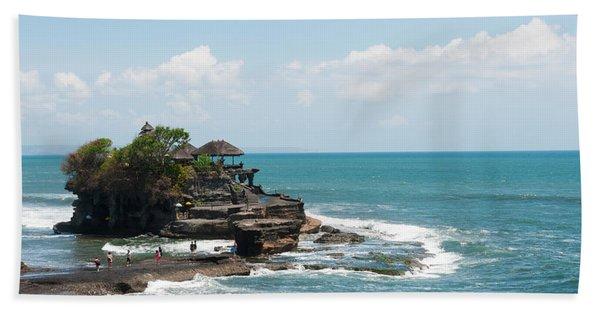 Sea Temple, Tanah Lot Temple, Tanah Beach Towel