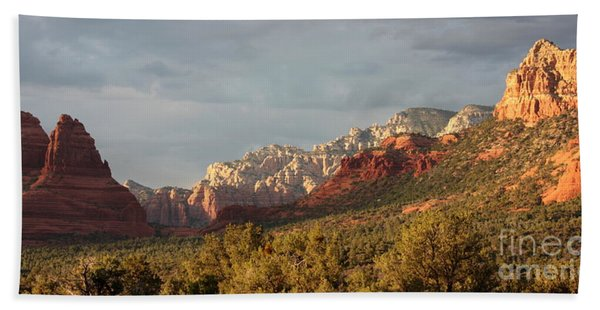 Sedona Sunshine Panorama Beach Towel