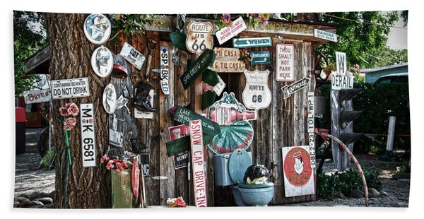 Shed Toilet Bowls And Plaques In Seligman Beach Towel