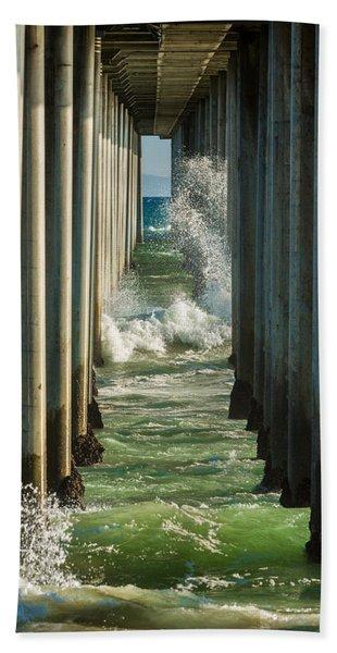Sign Wave Beach Towel