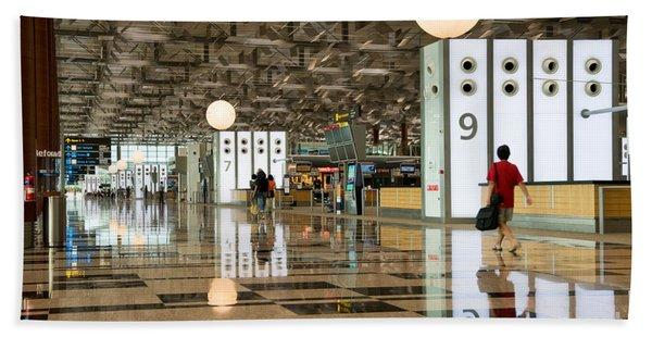 Singapore Changi Airport 03 Beach Towel