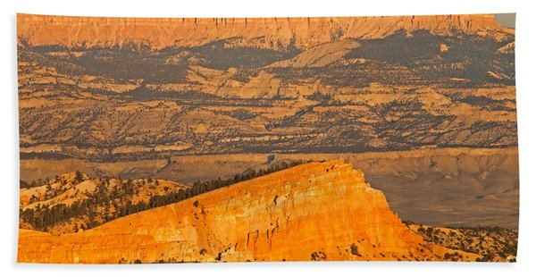 Sinking Ship Sunset Point Bryce Canyon National Park Beach Towel