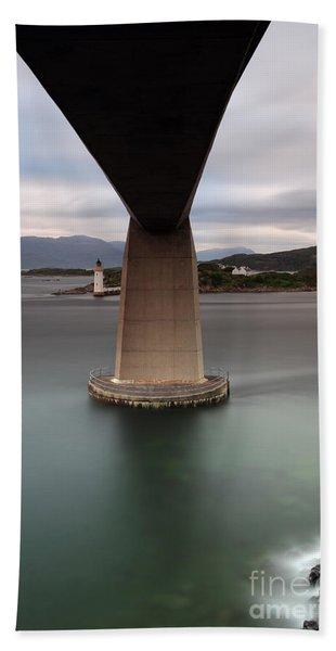 Skye Bridge At Sunset Beach Sheet