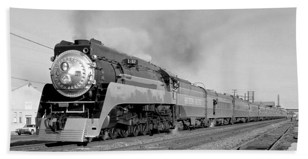 Southern Pacific Train In Texas Beach Sheet