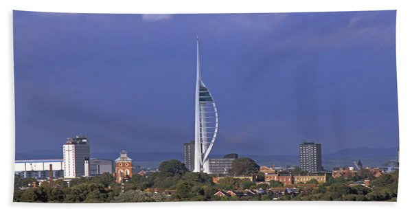 Spinnaker Tower Beach Towel