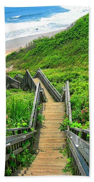 Staircase To Gem Beach Towel