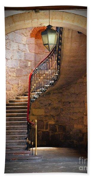 Stairway Of Light Beach Towel