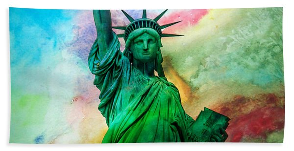 Stand Up For Your Dreams Beach Towel
