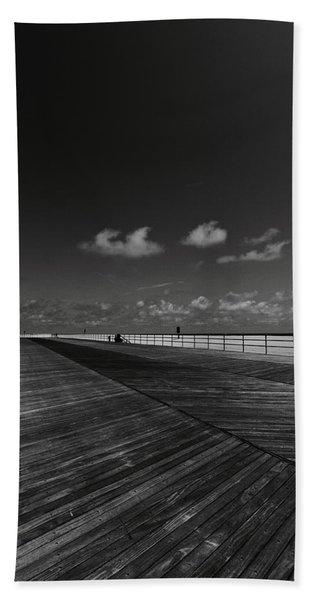 Summer Noir Beach Towel