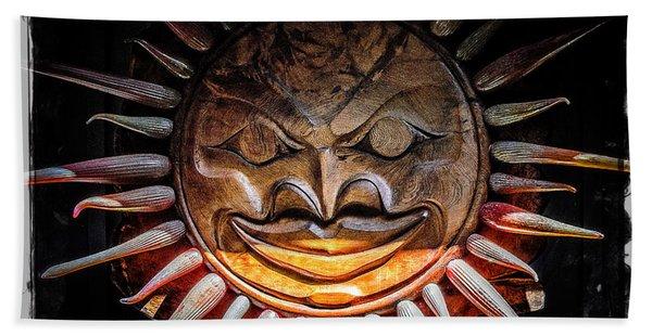 Sun Mask Beach Towel