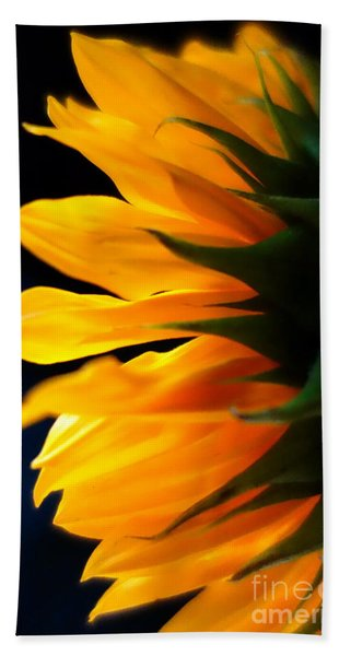 Beach Towel featuring the photograph Sunflower 2 by Jacqueline Athmann
