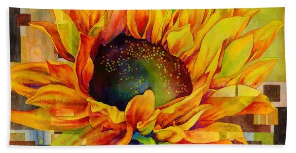Sunflower Canopy Beach Towel