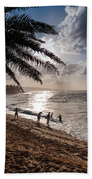Sunset Beach Park Beach Towel