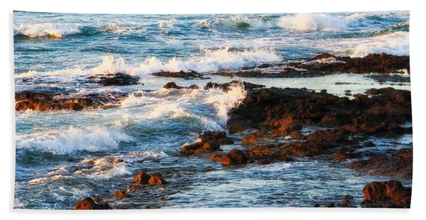 Sunset Shore Beach Towel