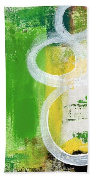 Tango- Abstract Painting Beach Towel