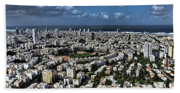 Tel Aviv Center Beach Sheet