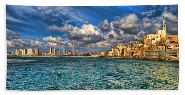 Tel Aviv Jaffa Shoreline Beach Sheet