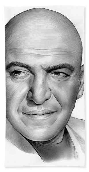 Telly Savalas Beach Towel
