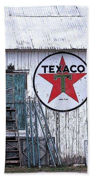 Texaco Times Past Beach Towel