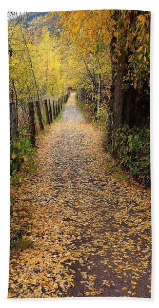 The Aspen Trail Beach Sheet