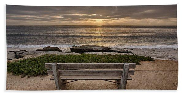 The Bench IIi Beach Towel