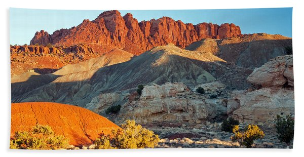 The Castle Capitol Reef National Park Beach Towel