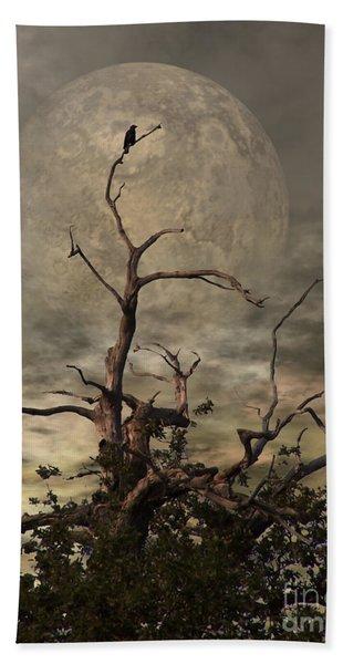 The Crow Tree Beach Towel