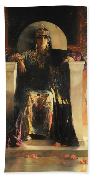 The Empress Theodora Beach Towel