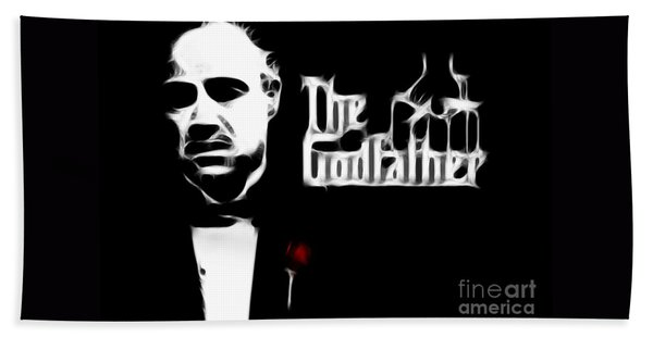 The Godfather Beach Towel