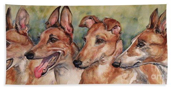 The Greyhounds Beach Towel